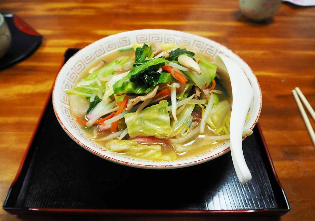 天ケ瀬温泉 食堂のんきのちゃんぽんの画像