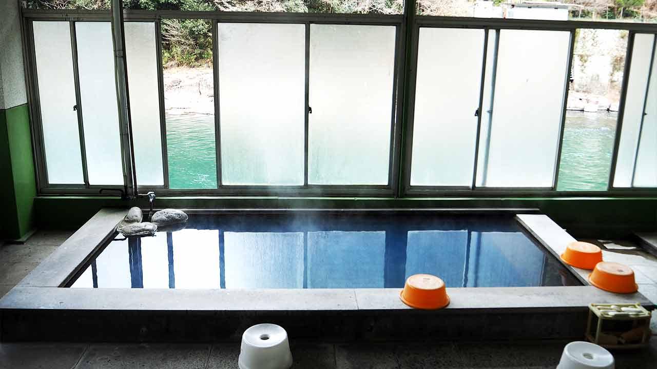 天ケ瀬温泉 食堂のんきの貸切温泉の画像