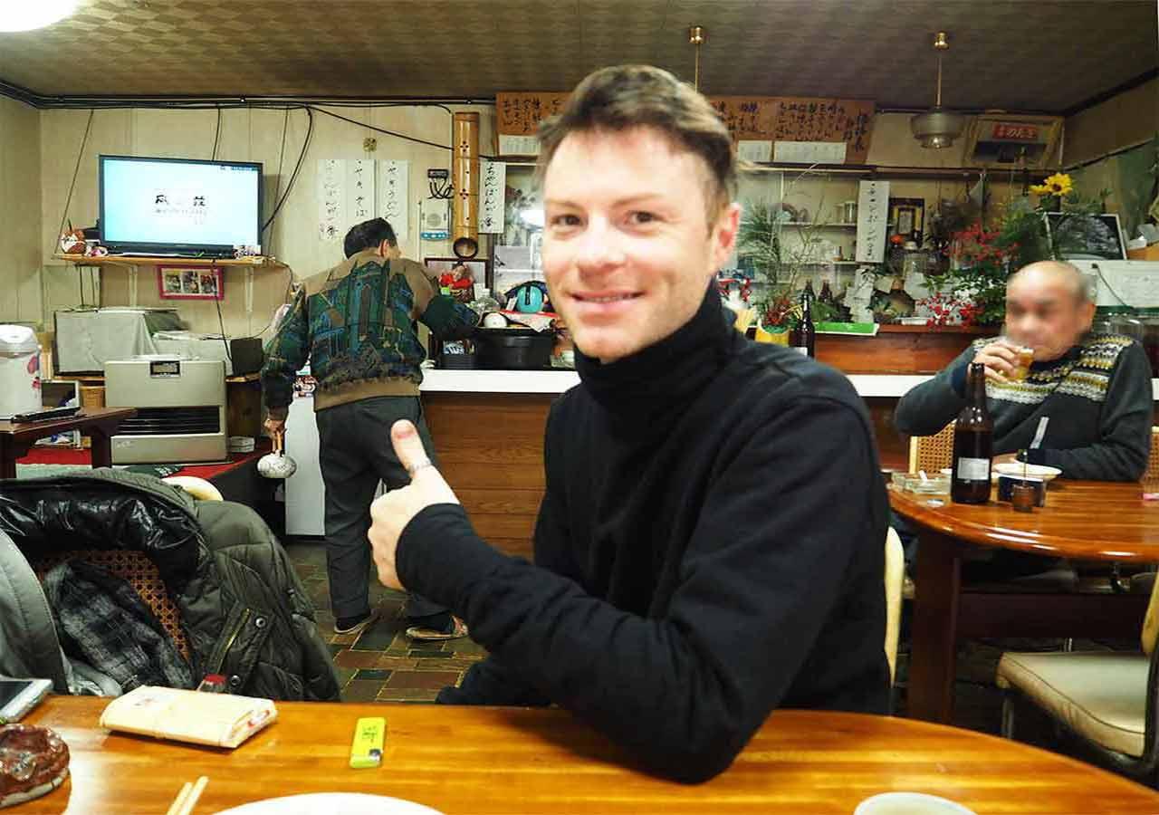 天ケ瀬温泉 食堂のんきの店内の画像
