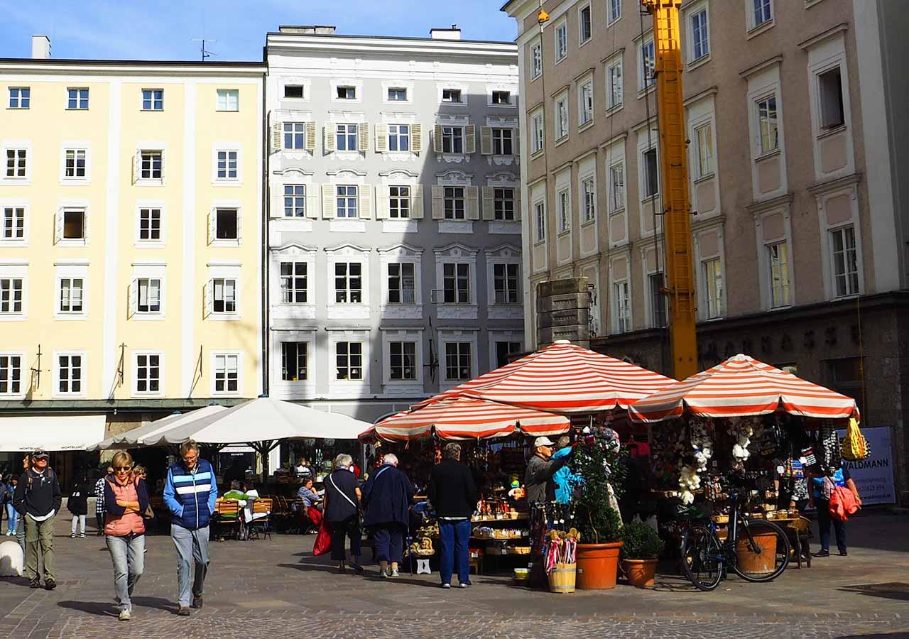 ザルツブルク観光 Alter Markt