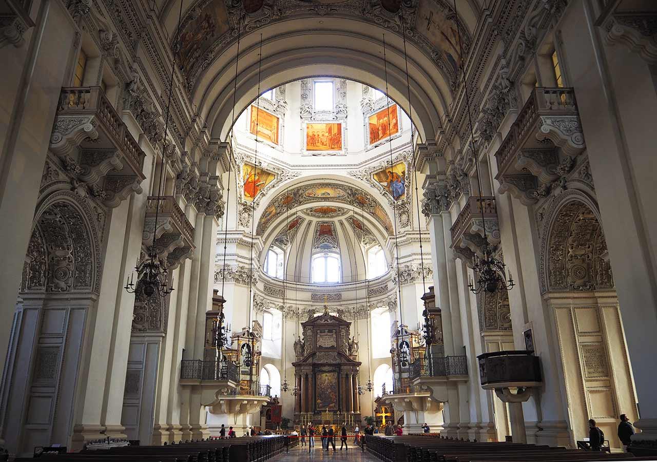 ザルツブルク観光  大聖堂