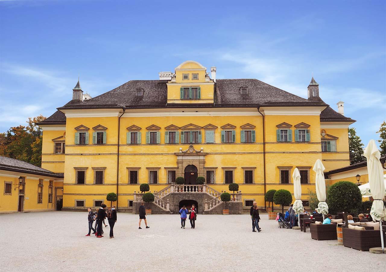 ザルツブルク観光  ヘルブルン宮殿