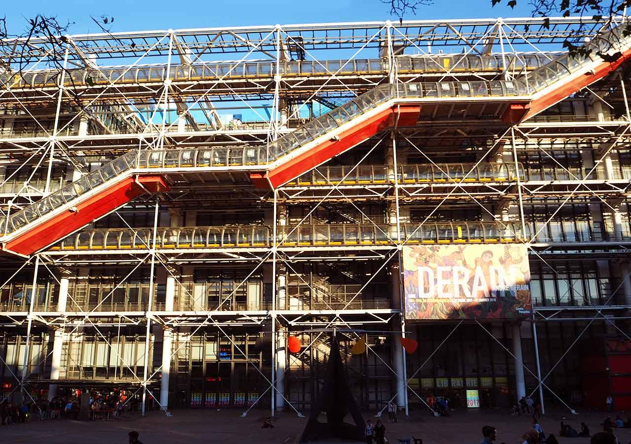 パリ観光 ポンピドゥーセンター