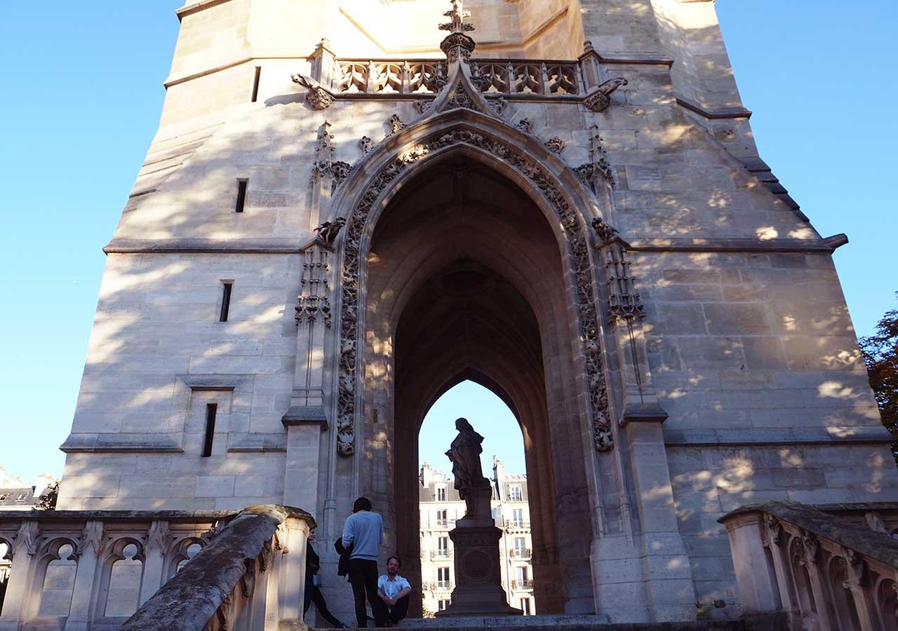 パリ観光 サンジャックの塔