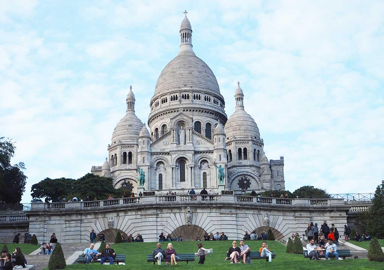 パリ観光 サクレ・クール寺院