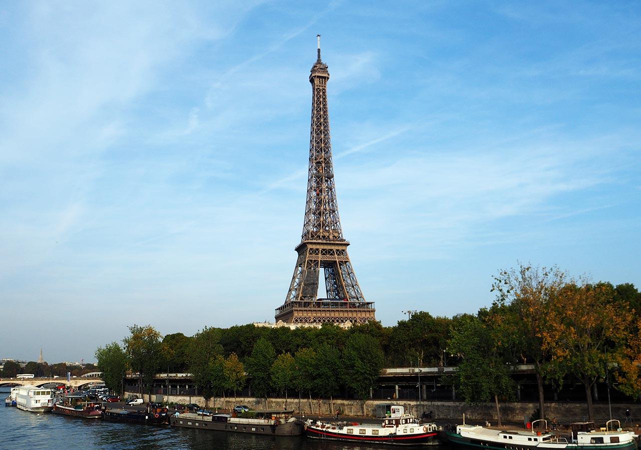 パリ観光 エッフェル塔