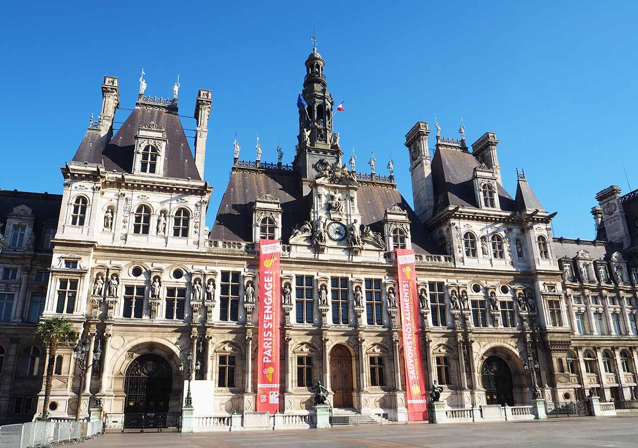 パリ観光 パリ市庁舎