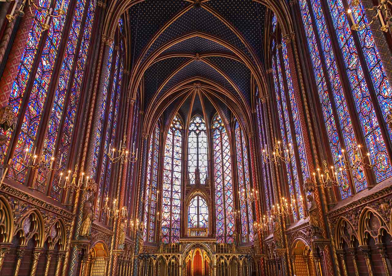 パリ観光 サントシャペル