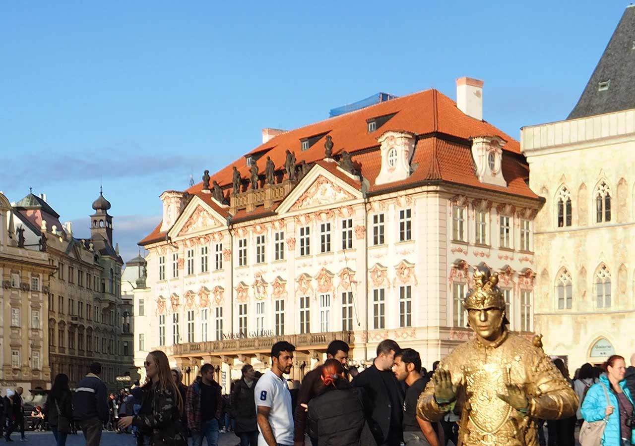 プラハ観光 ゴルツ・キンスキー宮殿