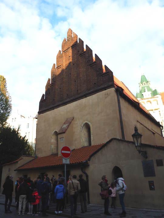 プラハ観光 穴場スポット 旧新シナゴーグ(Staronová synagóga)