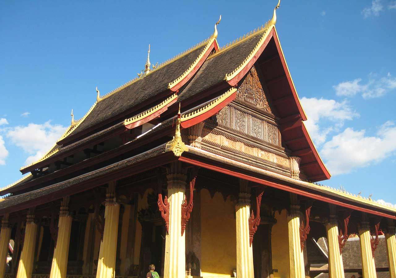 ビエンチャン観光 ワットシーサケット(Wat Si Saket)