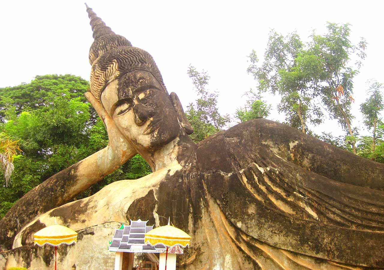 ビエンチャン観光 ブッダパーク(Buddha Park)のブッダ