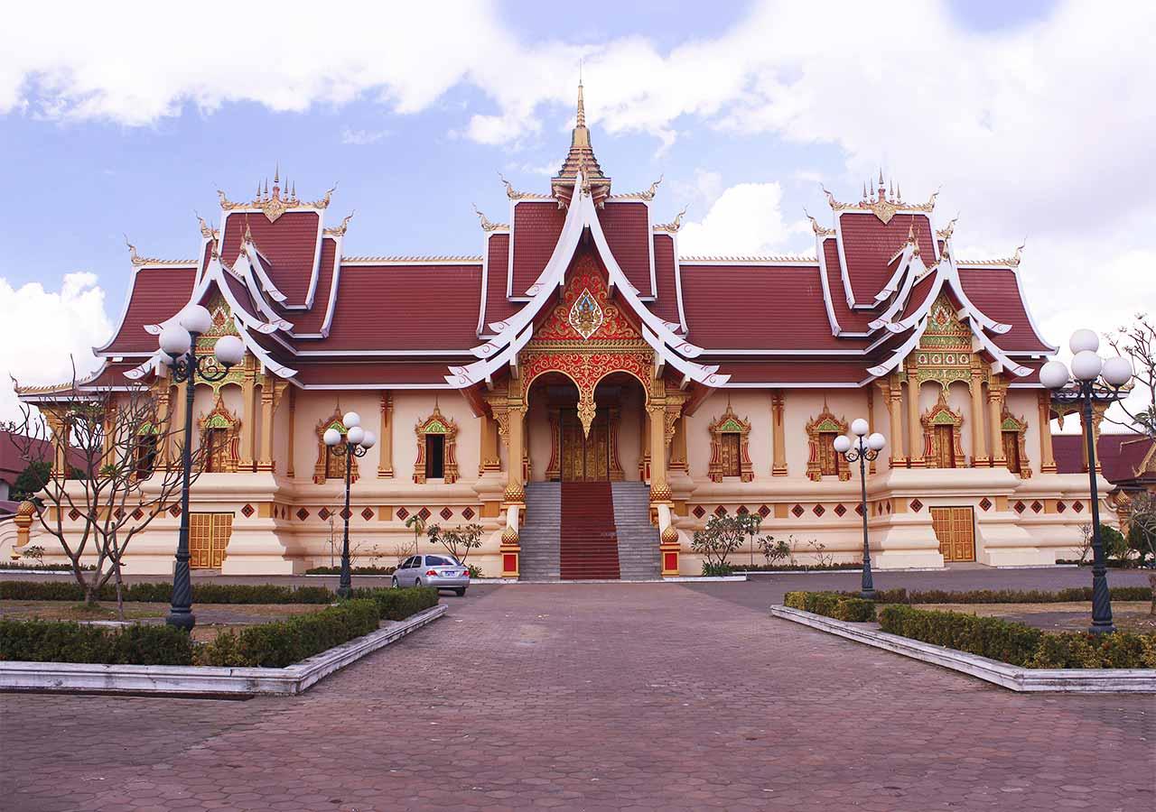 ビエンチャン観光 タートルアン(Pha That Liang)の寺院