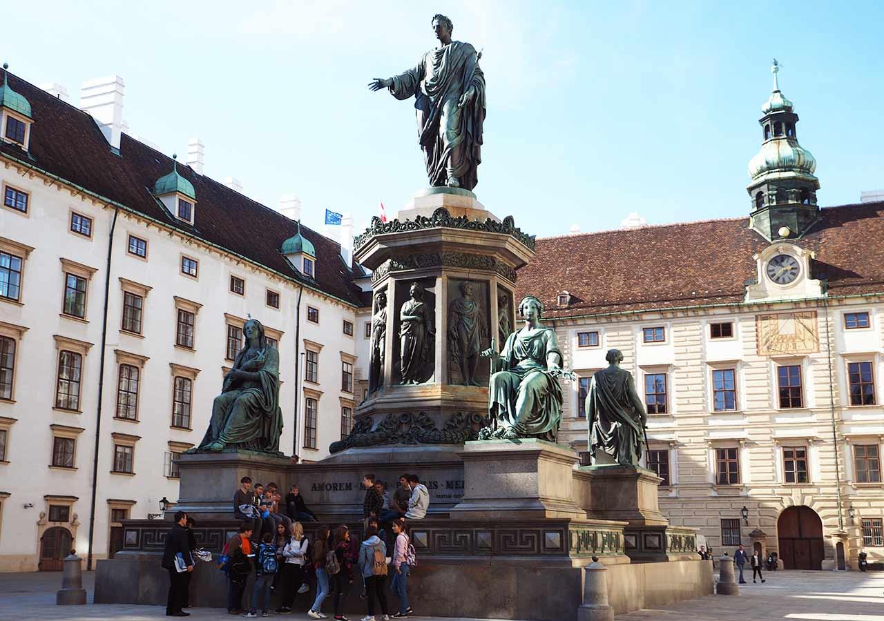 ウィーン観光 ホーフブルク宮殿(王宮)