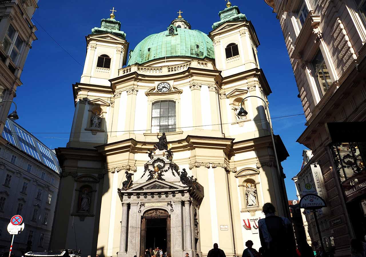 ウィーン観光 ペーター教会