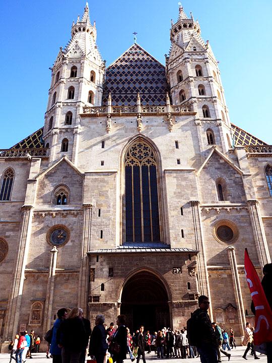 ウィーン観光 シュテファン寺院