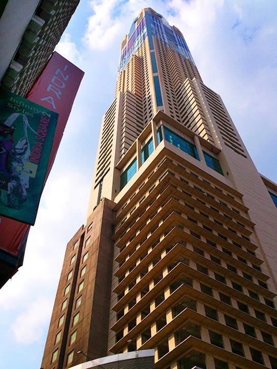 バンコク観光 バイヨークスカイタワー(Baiyoke Sky Tower)