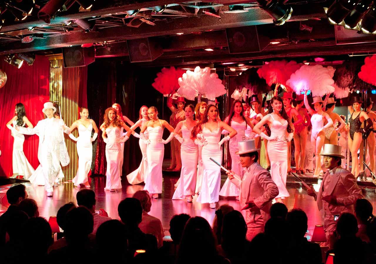 バンコク観光 カリプソキャバレー(Calypso Cabaret)