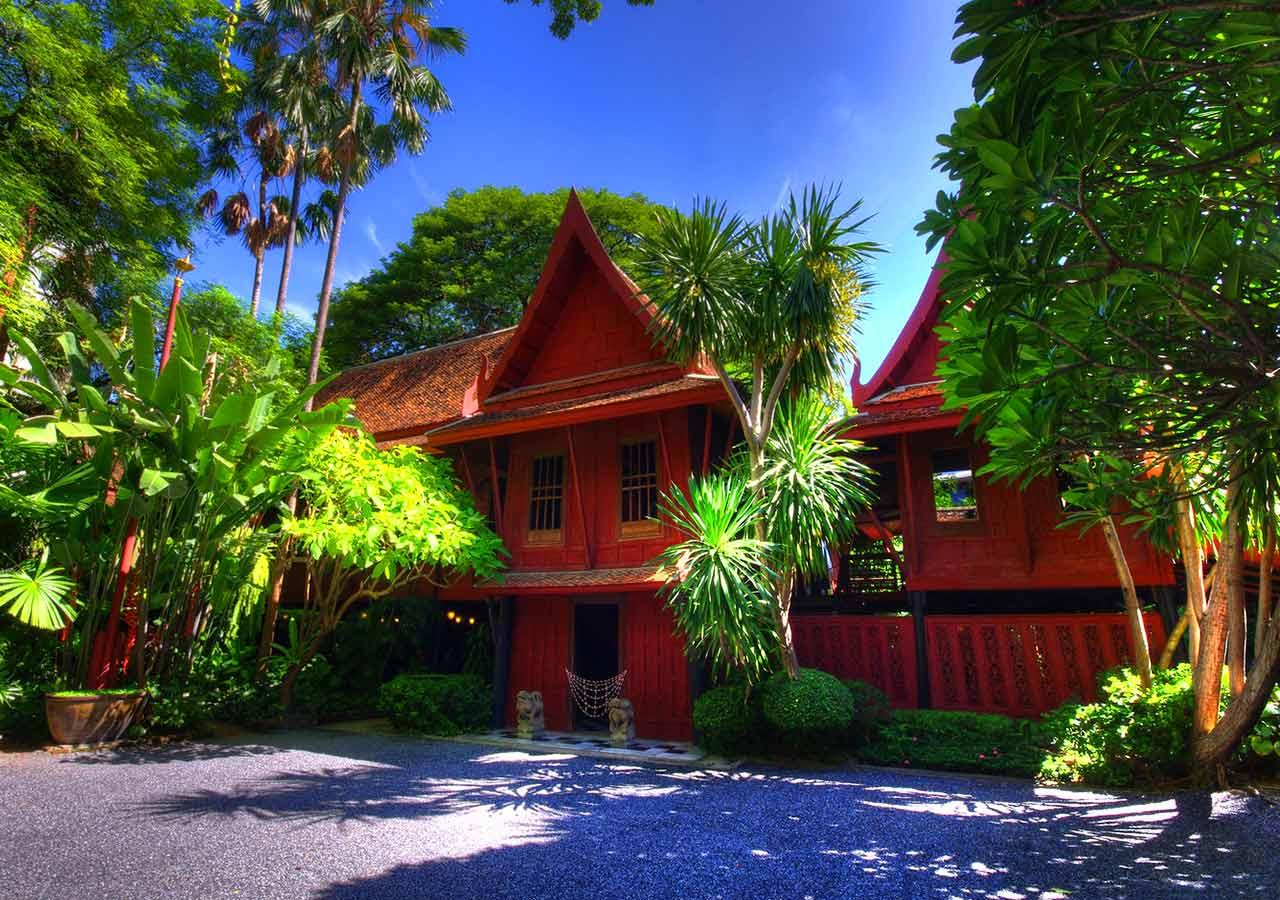 バンコク観光 ジム・トンプソンの家(Jim Thompson House)