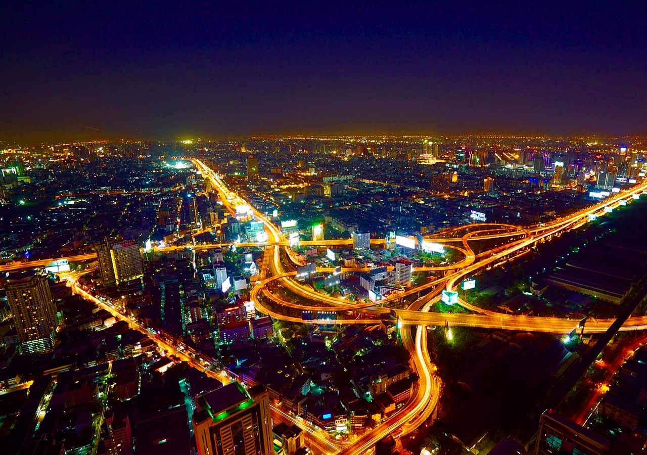 バンコク観光 バイヨークスカイタワー(Baiyoke Sky Tower)からの眺め