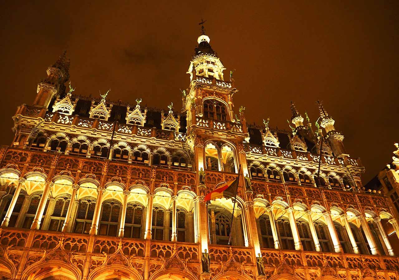 ブリュッセル観光 グランプラス(Grand Place)
