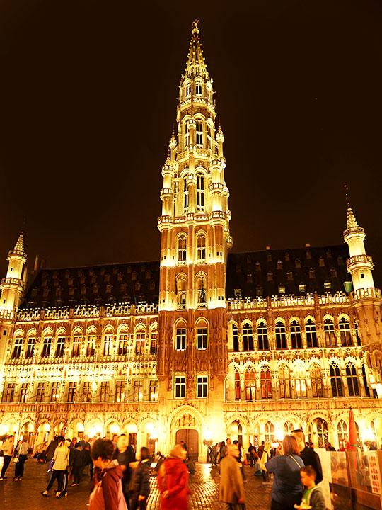 ブリュッセル観光 市庁舎