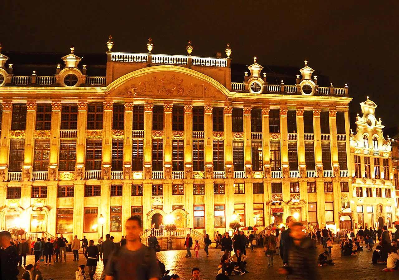 ブリュッセル観光 ブラバン公爵の館(Maison des Ducs de Brabant)