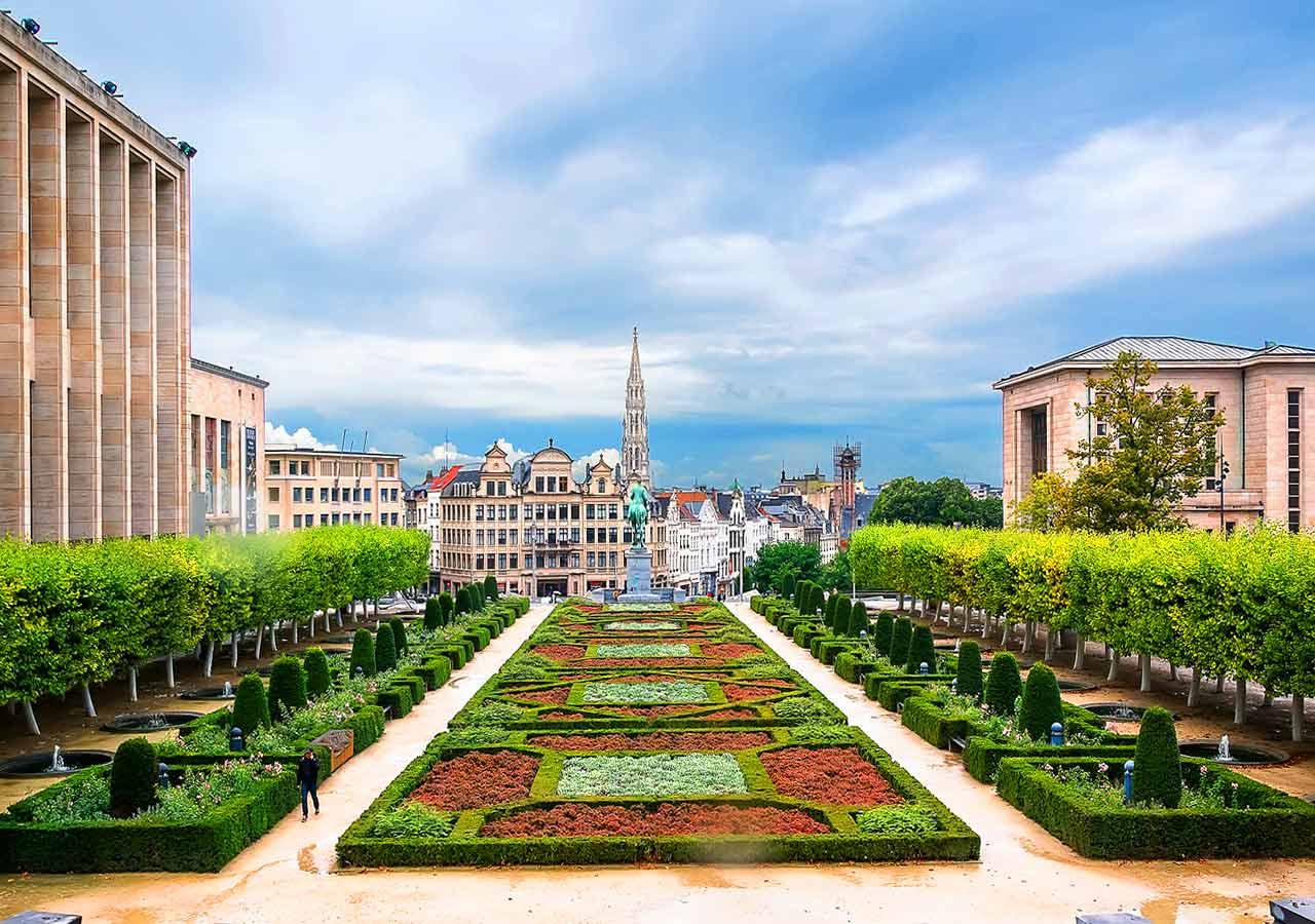ブリュッセル観光 芸術の丘(Monts des Arts)