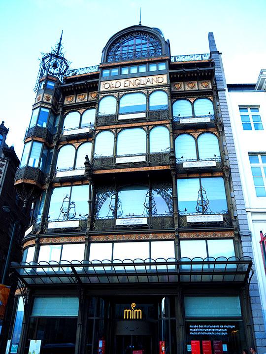 ブリュッセル観光 楽器博物館(Musee des Instruments de Musique)
