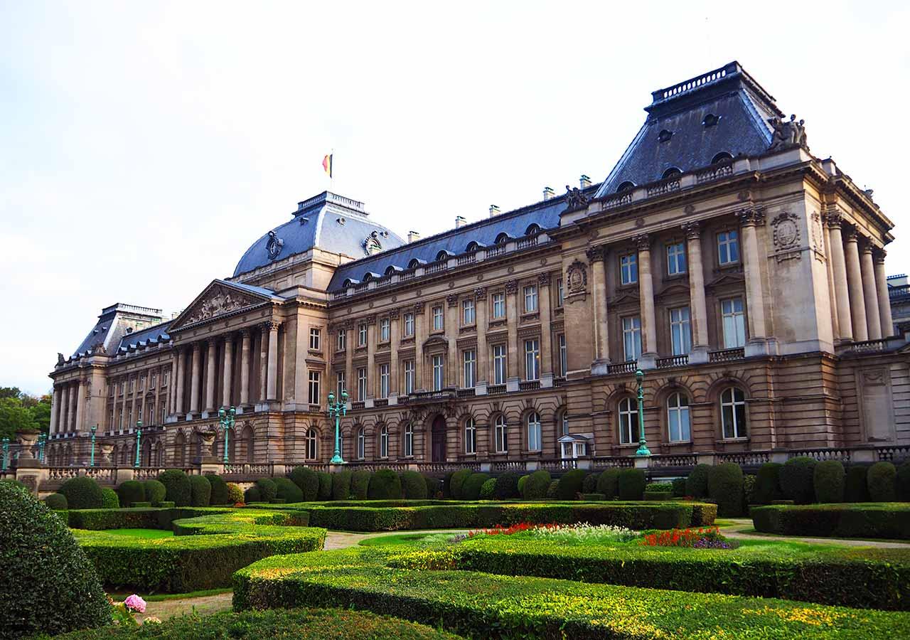 ブリュッセル観光 王宮(Palais Royale)