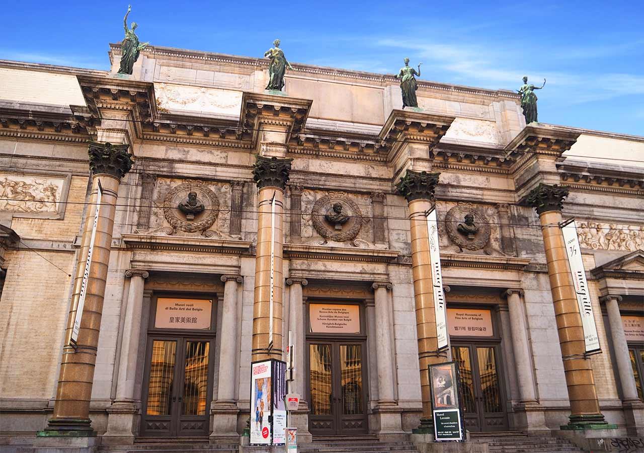 ブリュッセル観光 ベルギー王立美術館(Royaul Museums of Fine Arts of Belgium)