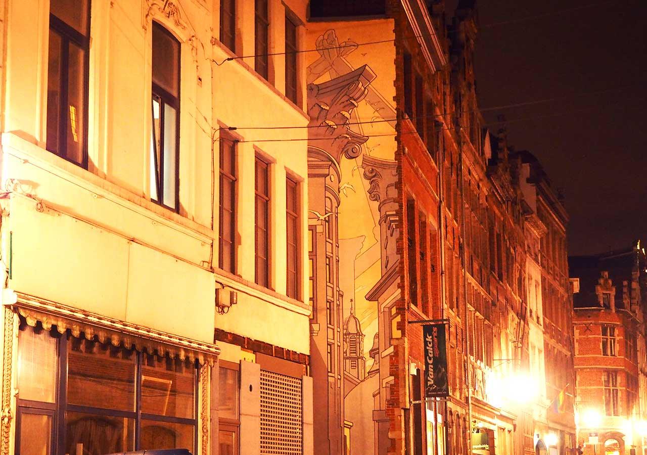 ブリュッセル観光 ストリートアート