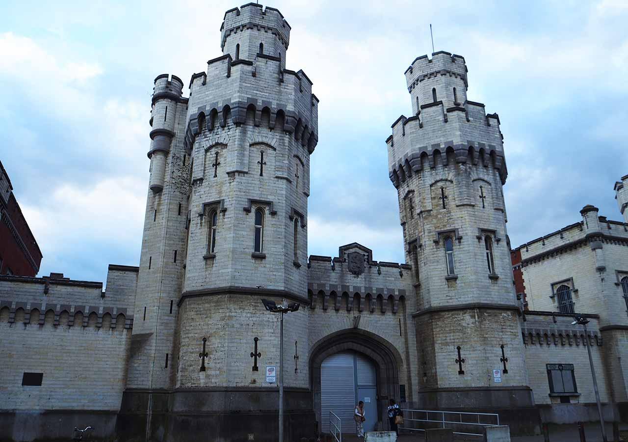 ブリュッセル観光 サン=ジル地区の刑務所(Prison_de_Saint-Gilles)