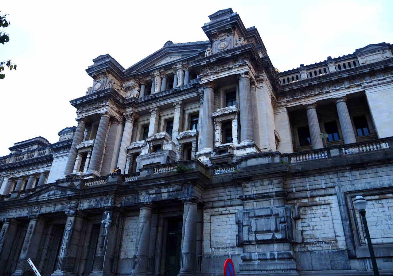 ブリュッセル観光 最高裁判所(Palais de Justice)