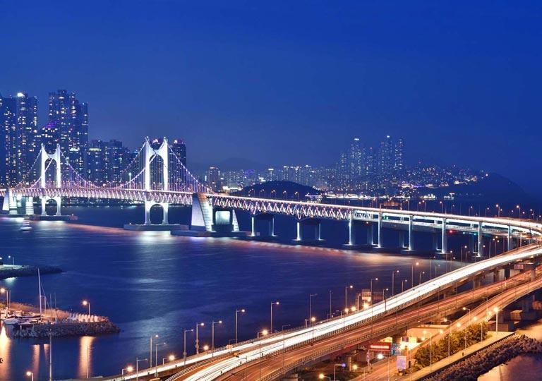 釜山観光 広安大橋(クァンアンテギョ)