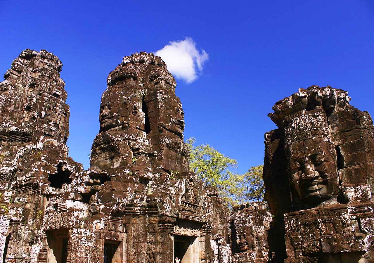 アンコールワット観光 アンコールトム(Angkor Tom )/バイヨン(Bayon)