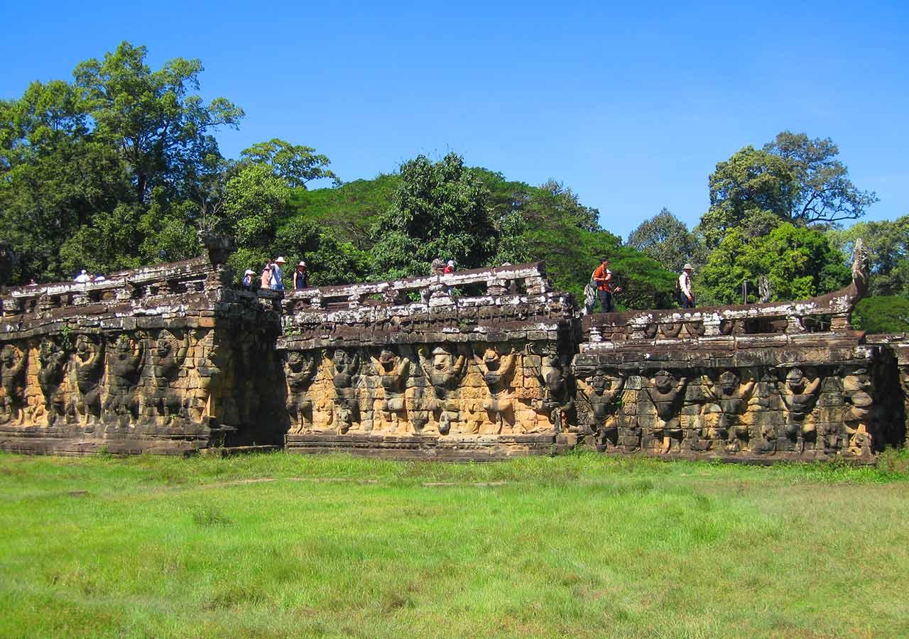 アンコールワット観光 象のテラス(Terrace of the Elephants)