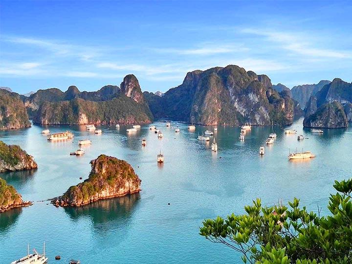 「世界遺産・ハロン湾は現地ツアーが安い!クルーズツアーのレビュー」トップ画像