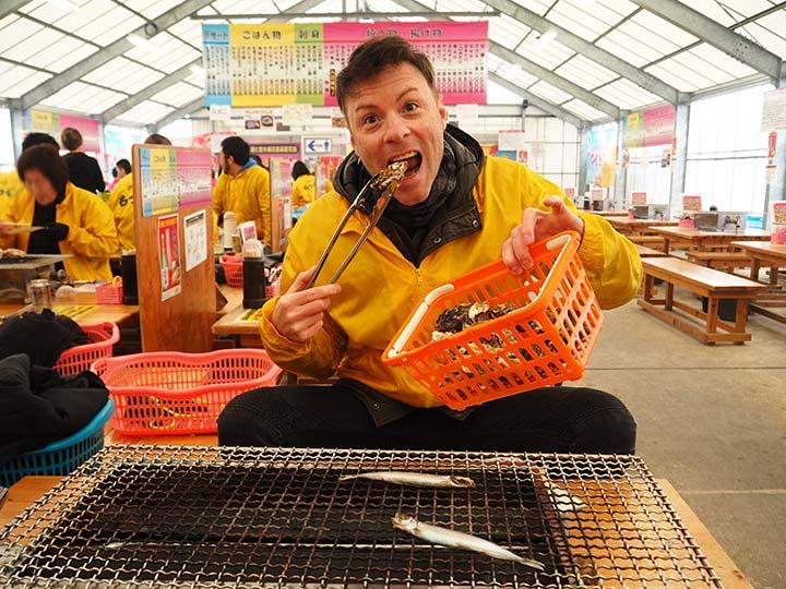糸島観光 牡蠣(カキ)小屋の記事トップ画像