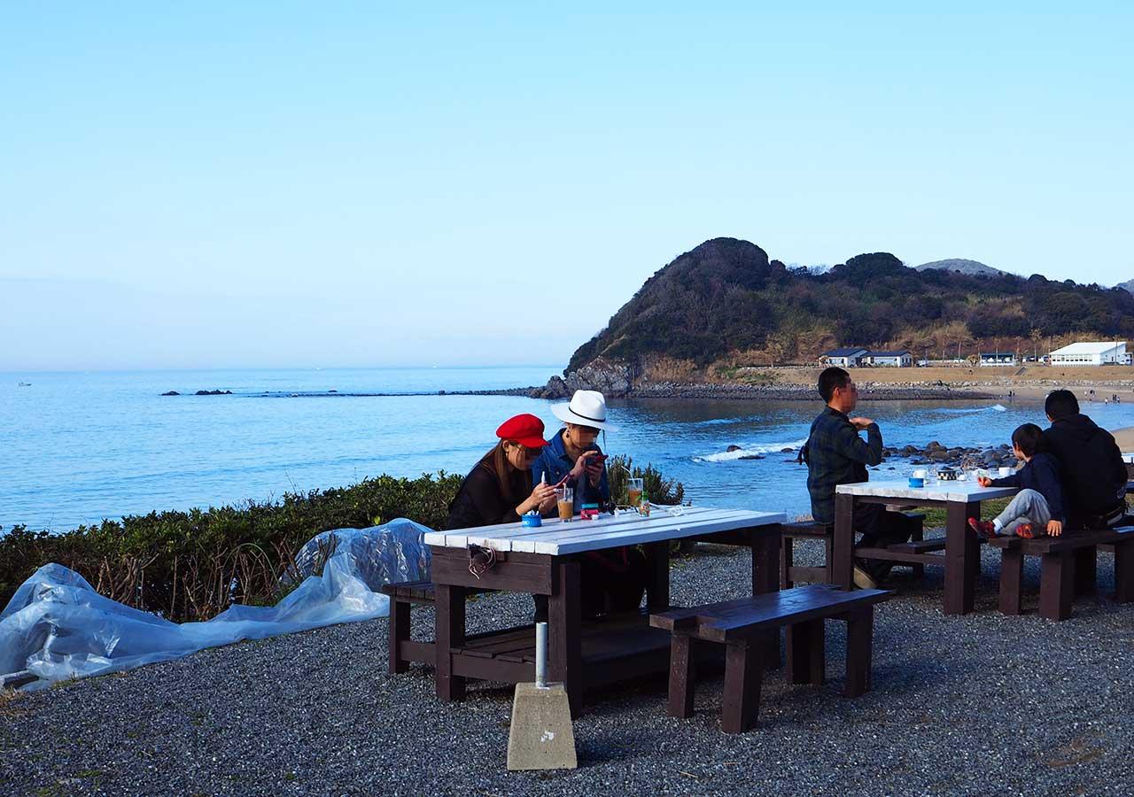 糸島観光 二見ヶ浦のNap Cafe