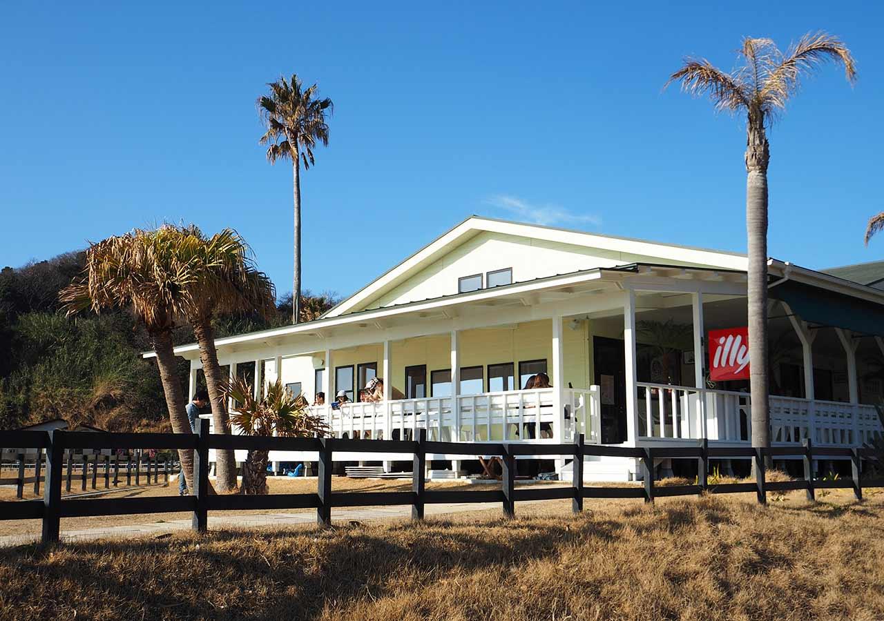 糸島観光 二見ヶ浦のPerm Beach Gardens