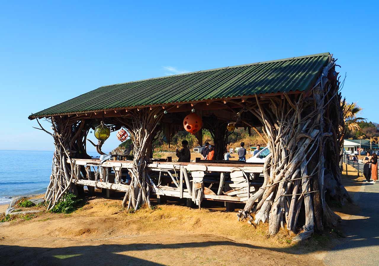糸島観光 二見ヶ浦 Beach Cafe SUNSETの小屋
