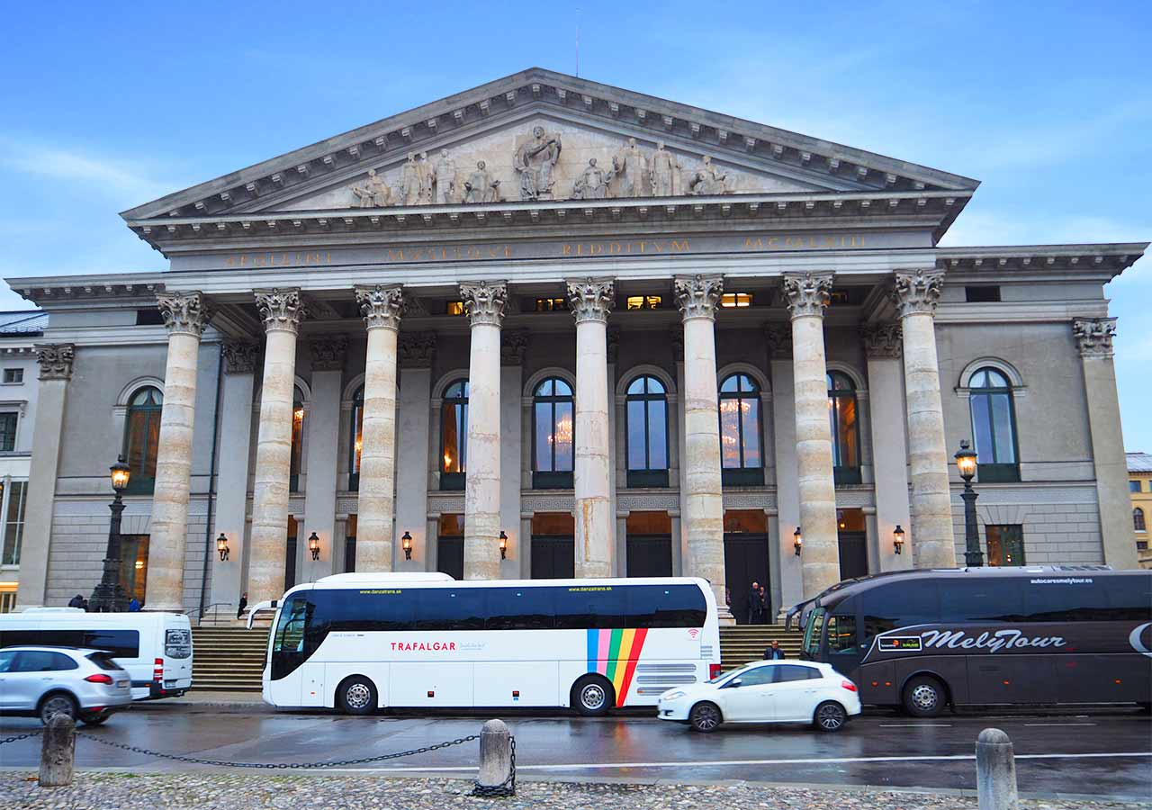 ミュンヘン観光 バイエルン州立歌劇場(Bayerische Staatsoper)