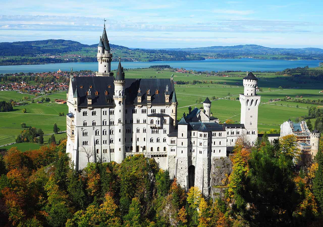 ミュンヘン観光 ノイシュバンシュタイン城(Neuschwansten Castle)