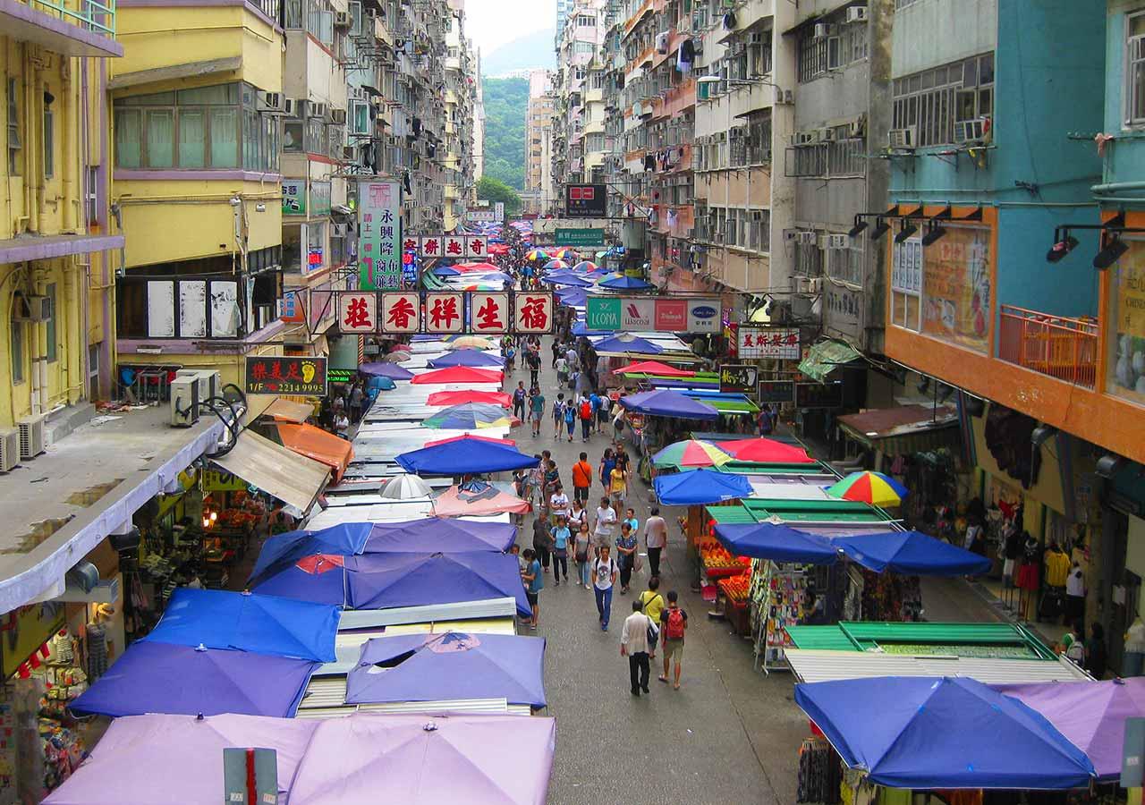香港観光 花園街