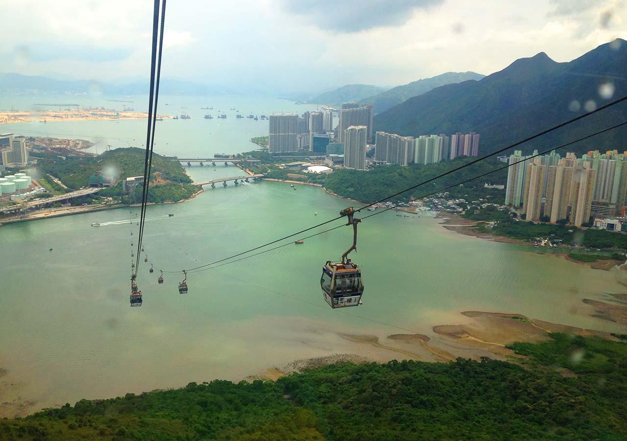 香港観光 昴坪360 (ゴンピン360,Ngong Ping 360)