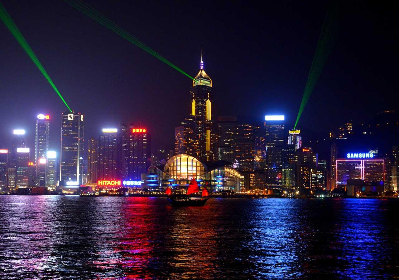 香港観光 シンフォニーオブライツ