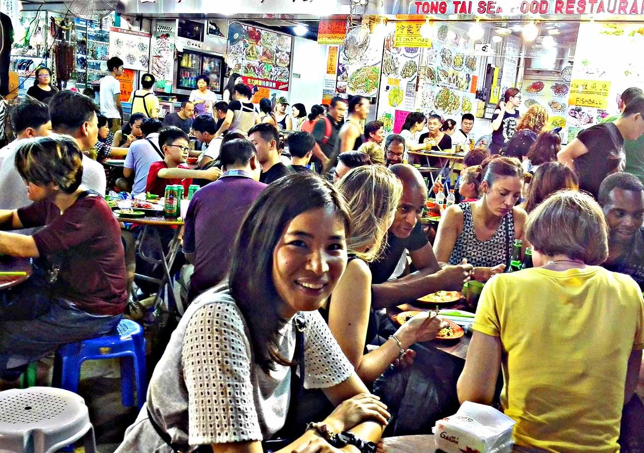 香港観光 ナイトマーケット