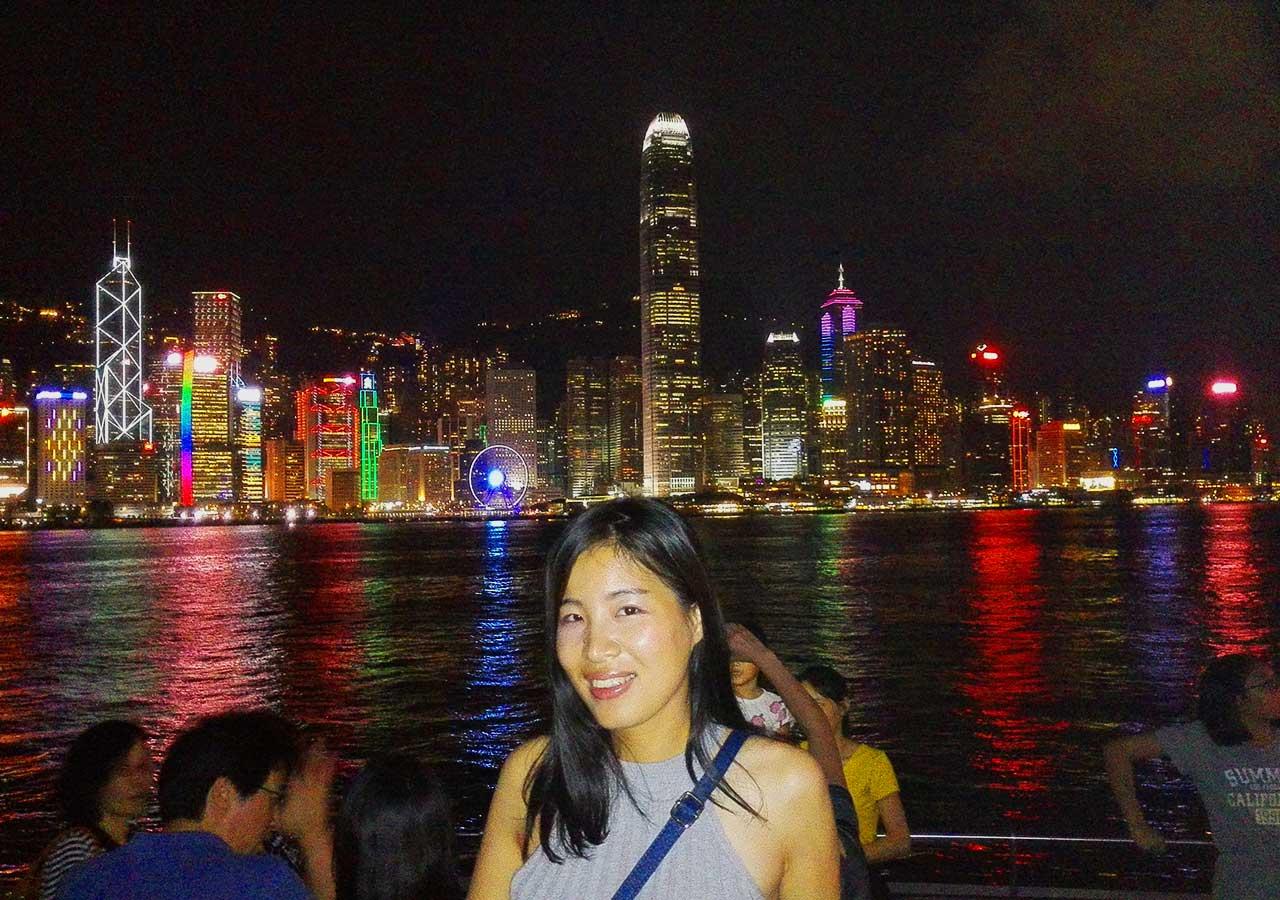 香港観光 ヴィクトリア湾