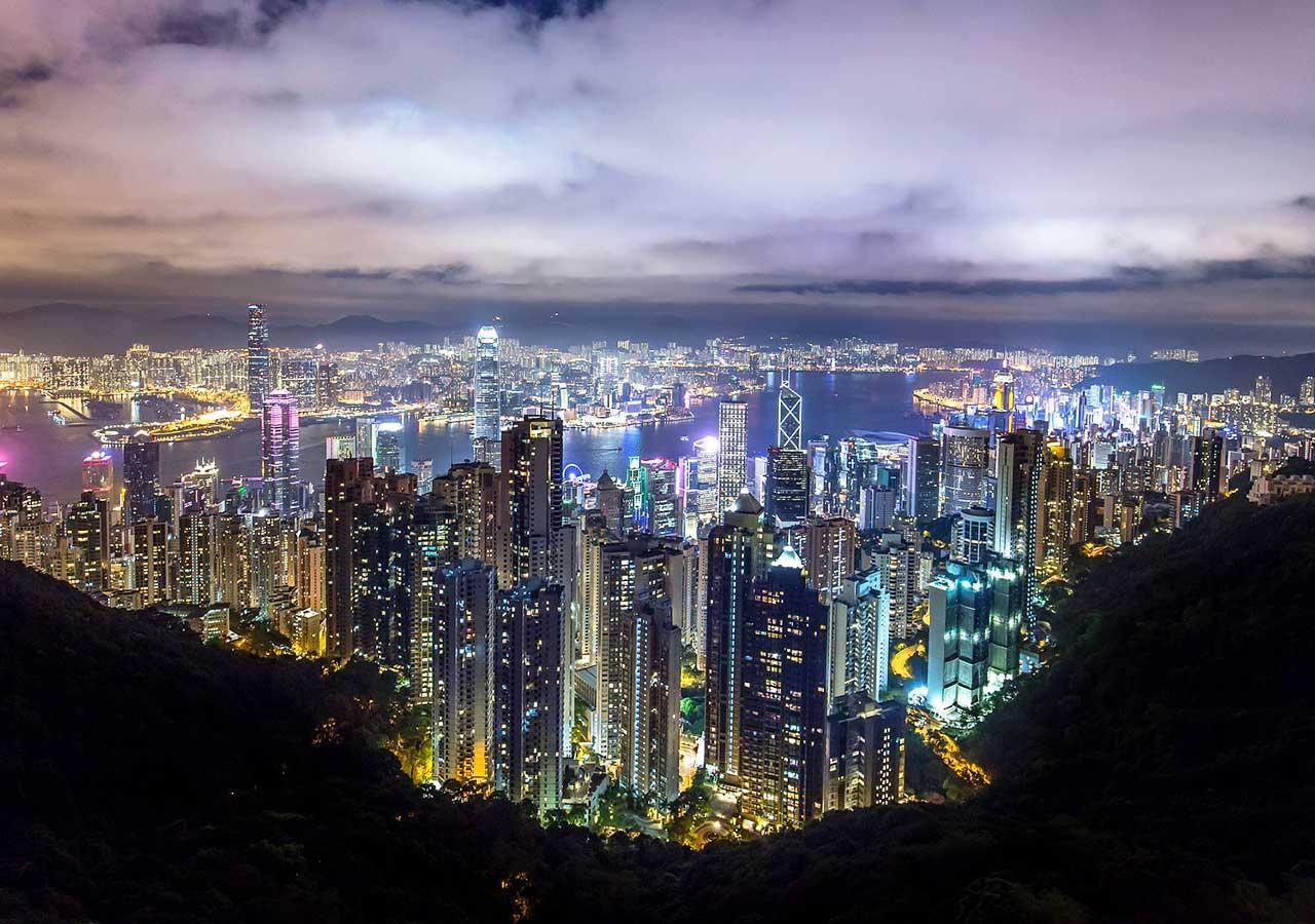 香港観光 ヴィクトリアピーク